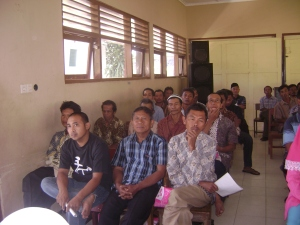 Sosialisasi program komite